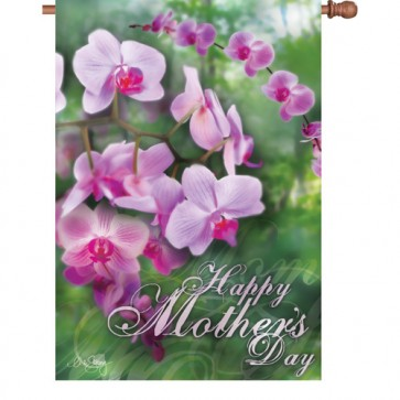 Happy Mothers Day House Flag