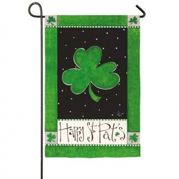 Happy St. Pat's Garden Flag
