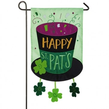Happy St Pat's  Garden Flag