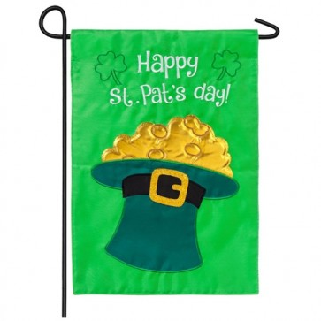 Happy St Patrick's Day Garden Flag