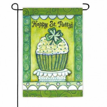 Happy St Patricks Day   Garden Flag