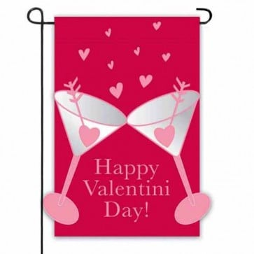 Happy Valentini Day Garden Flag