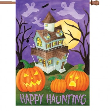 Happy Haunting House Flag