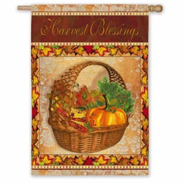 Harvest Blessings   House Flag