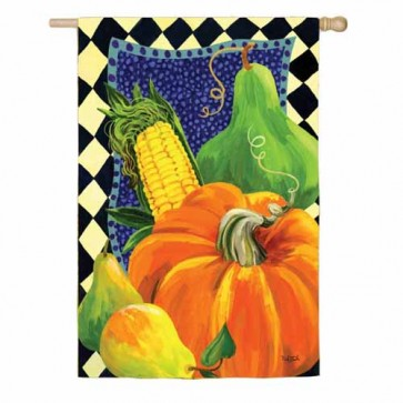 Harvest Bounty   House Flag
