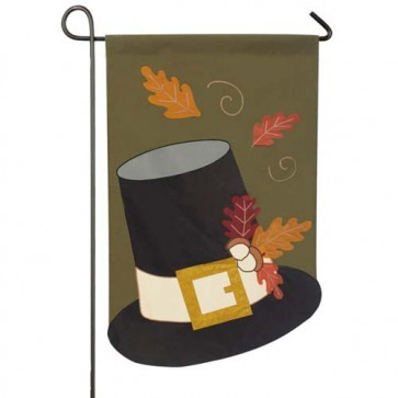 Harvest Hat Garden Flag