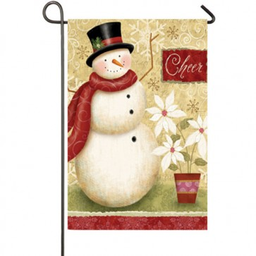 Holiday Elegance Christmas Garden Flag