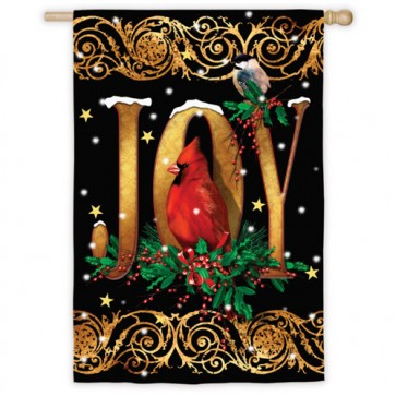 Holiday Joy House Flag