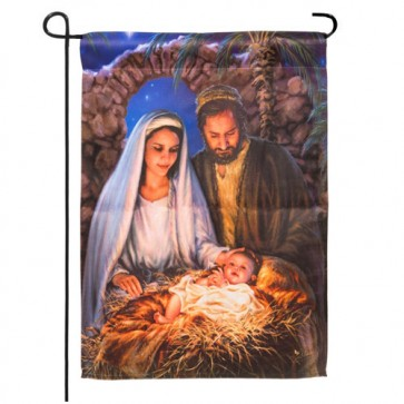 Holy Family Garden Flag