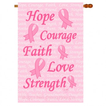 Hope, Faith, Courage  House Flag