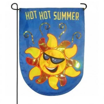 Hot Hot Summer Garden Flag
