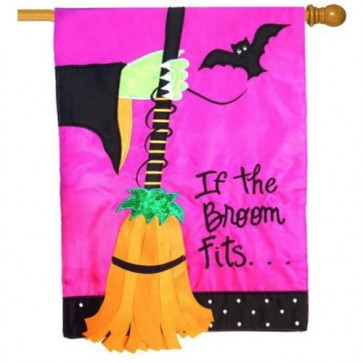 If the Broom Fits House Flag