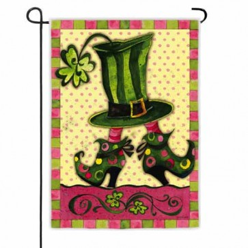 Lady Leprechaun   Garden Flag
