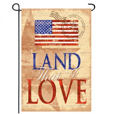 Land That I Love Garden Flag