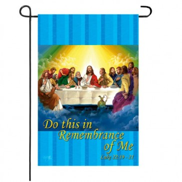 Last Supper  Garden Flag