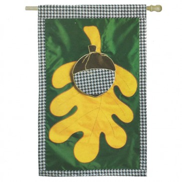 Leaf and Acorn House Flag