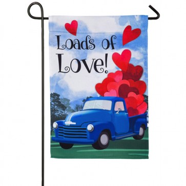 Loads of Love Valentine's Day Garden Flag