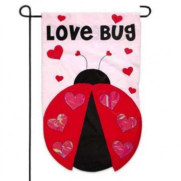 Love Bug Garden Flag