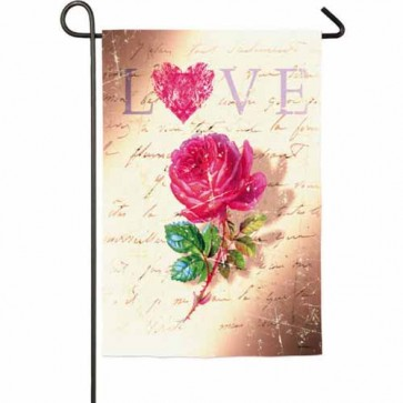 Love Rose Garden Flag