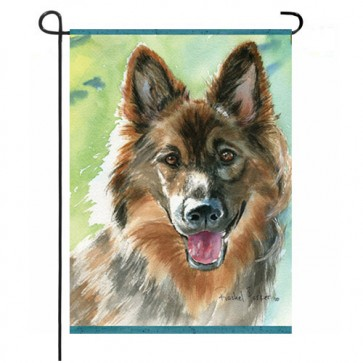 Loyal Shepherd Garden Flag