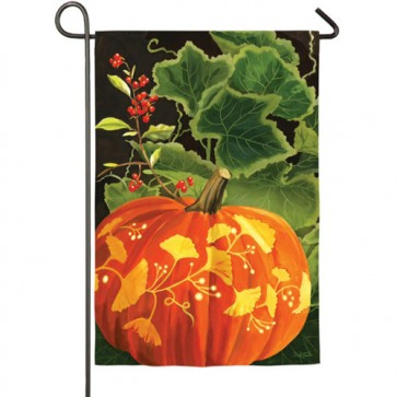 Magic Pumpkin Garden Flag