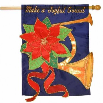 Make A Joyful Sound  House Flag