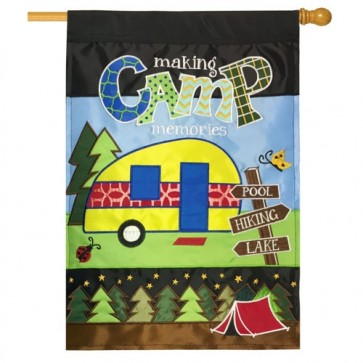 Making Camp Memories House Flag