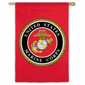 Marines House Flag
