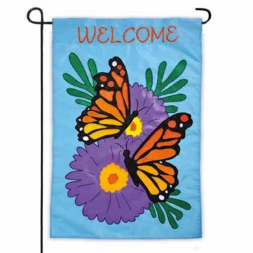 Monarch Butterfly Garden Flag