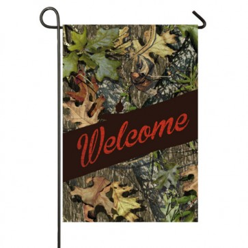 Mossy Oak Welcome Garden Flag