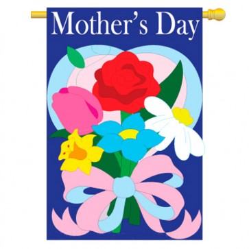 Mother's Day House Flag