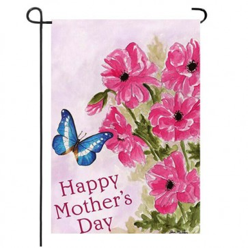 Mothers Day Flowers Garden Flag