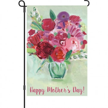 Mother's Day Bouquet Mother's Day Garden Flag