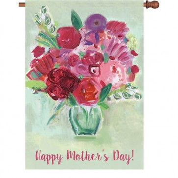 Mother's Day Bouquet Mother's Day House Flag