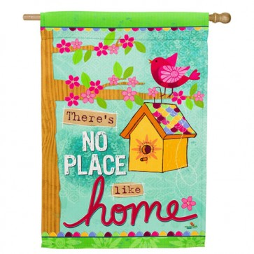 No Place Like Home House Flag