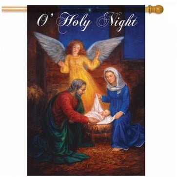 O Holy Night House Flag