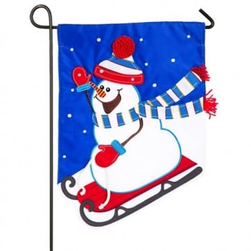 Oh What Fun Winter Garden Flag