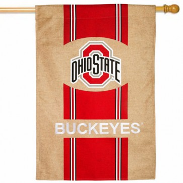 Ohio State Buckeyes College House Flag