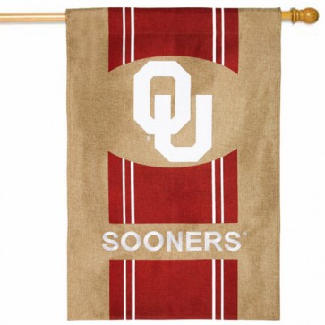 Oklahoma Sooners College House Flag
