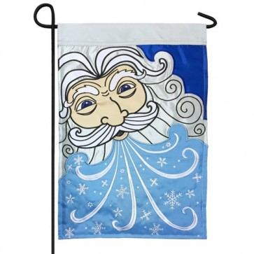 Old Man Winter Garden Flag