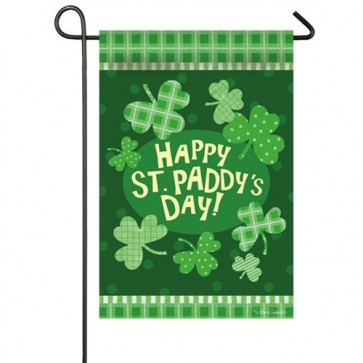 Paddy's Party St Patrick's Day Garden Flag