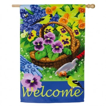 Pansies for Planting House Flag