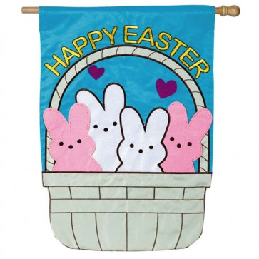 Peeps in a Basket  House Flag