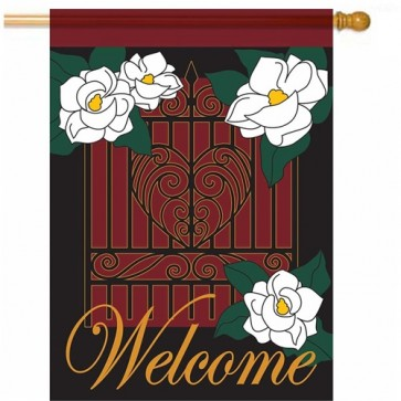 Plantation Magnolia Welcome House flag