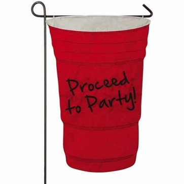 Proceed to Party garden Flag