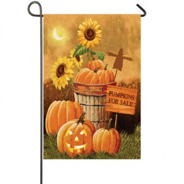 Pumpkin Patch for Sale Garden Flag