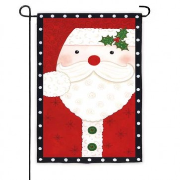 Santa / Snowman  Garden Flag (Both Sides are Different)