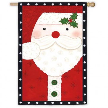 Santa / Snowman  House Flag (Sides Different)
