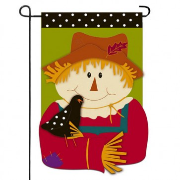 Scarecrow Friends Garden Flag
