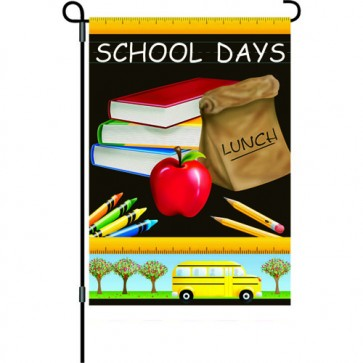 School Days Back to School Garden Flag